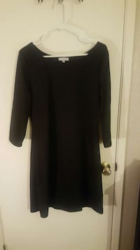 women's black long sleeve dress
