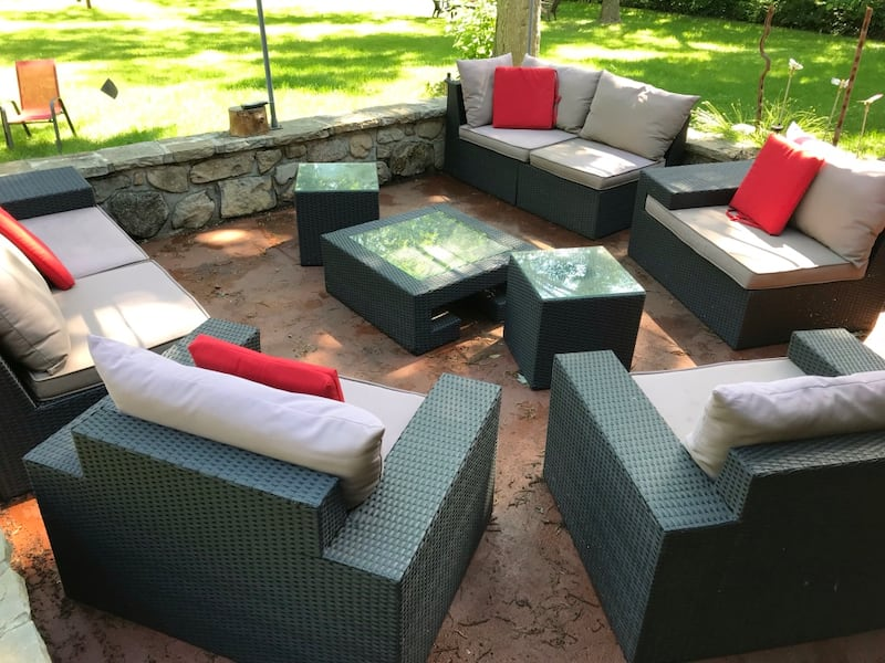 Outdoor seating (sectional) 10 pieces b73a52ec-1bb5-4ff9-9bbb-b2b6c199cf38