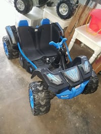Power wheels dune buggy for two bike car quad