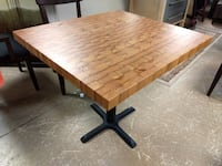 Solid Wood Dining Table Hand Made from Douglas Firs / Kitchen Table 60081