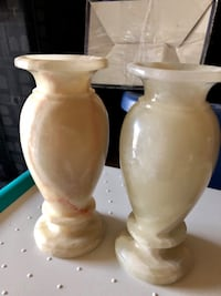 A pair of Marble vases 55 km