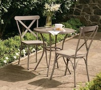 Patio set Hometrends x back  iron Toronto, M6B 2G4