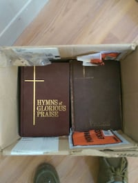 12 hymnal books, old and new Milo, 04463