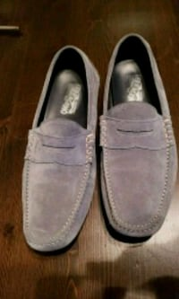 pair of gray suede loafers Edmonton, T5L