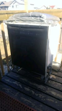 black and gray wooden cabinet Grande Prairie, T8W 2P9