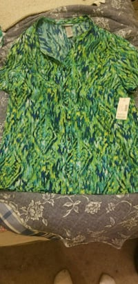 green, yellow, and blue floral textile Hagerstown, 21740