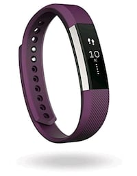 Fitbit Alta, Stainless Steel Tracker / Plum Band, Large Toronto, M9V 2X6