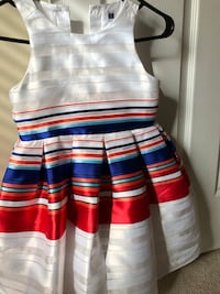 Janie and jack blue red and white sleeveless dress for girls Woodbridge, 22192