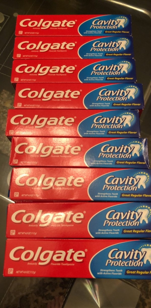 9 Colgate 4oz packs