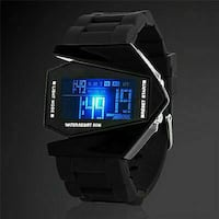 lack digital watch with sports band Waukegan, 60085