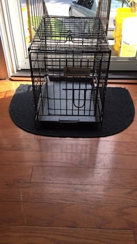 black metal wire pet cage Damascus, 20872