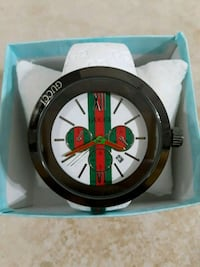 round black and green chronograph watch Montgomery, 36109