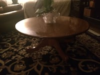 Round Oak Coffee Table/hand made Calgary, T2J 2W6