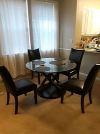 Dinning set, table and chairs