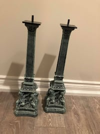 ANTIQUE - One Of A Kind - Candle Holders