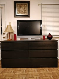 Like new big dresser/TV stand with big drawers in  Annandale, 22003