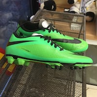 Green / Black Nike hyper/Venom Soccer shoes asking $115.00  Edmonton, T5Z 3A9