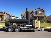 black and brown utility trailer New Braunfels, 78130