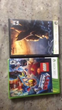 two assorted Xbox 360 game cases