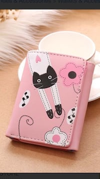 Leather Pink Cat Cute Wallet  Collegeville, 19426