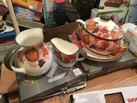 Soup Bowl, gravy boat, and Pitcher Newport News, 23601
