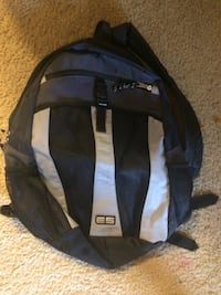black and blue Adidas backpack Thornton, 80229