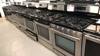 Stainless steel gas stove 10% off +free delivery Reisterstown, 21136