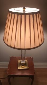 Table Lamp by Restoration. One Pair. Each $250 Toronto, M2J 3A3