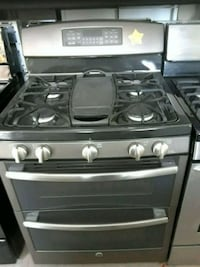 black and gray gas range oven Fairfax, 22033