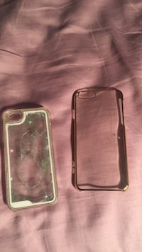 two clear plastic phone cases Howell, 07731