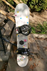 Womens complete snowboard