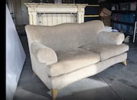 Sofa and two accent chairs