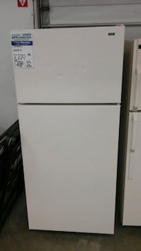 Bisque Hotpoint by GE Refrigerator Works like new  Fort Collins