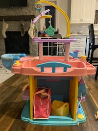 Toy nursery and change table