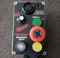 Brand New Magnetic Milwaukee Drill Switch Panel
