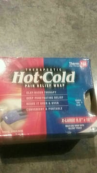 Never used- Therapeutic hot cold pain relief wrap  Moscow, 18444