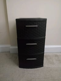 3 Drawer Weave Tower Silver Spring, 20910