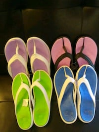 pair of pink-and-white flip flops Chula Vista, 91910