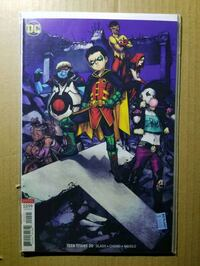 Teen Titans 20 vol 6 (9.6) NM+ (Crush story) Lanham, 20706