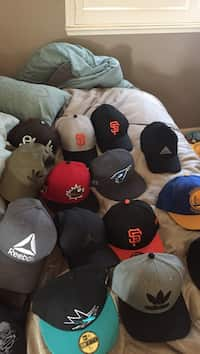 74a8e4c0a41f5 Used three assorted fitted caps for sale in Los Banos - letgo
