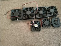 seven black cooling fans Riverbank, 95367