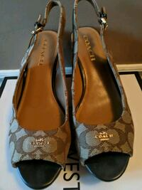 New! Authentic Coach Shoes - Size 8.5 Brampton, L6P