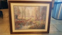 brown wooden framed painting of trees Phoenix, 85029