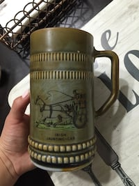 black and green ceramic beer stein Falls Church, 22042