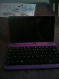 i pad with key board.   Still available   price refucef