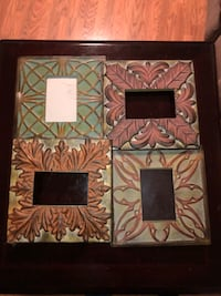 Four assorted metal and brass decorative frames Clarksville, 37043