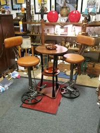 Super cool Bicycle Stool Bar stools and table! Kensington, 20895