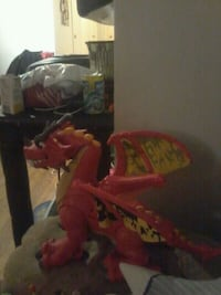 Fisher price red dragon toy