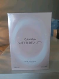 CALVIN KLEIN, Sheer Beauty, pour femme 100 ml neuf Montreal, H1M 2Y7
