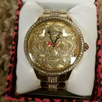BETSEY JOHNSON chronograph watch